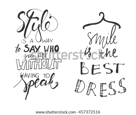 style is a way to say who you