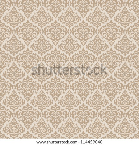 stylish abstract beige floral