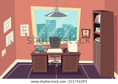 stylish business working office
