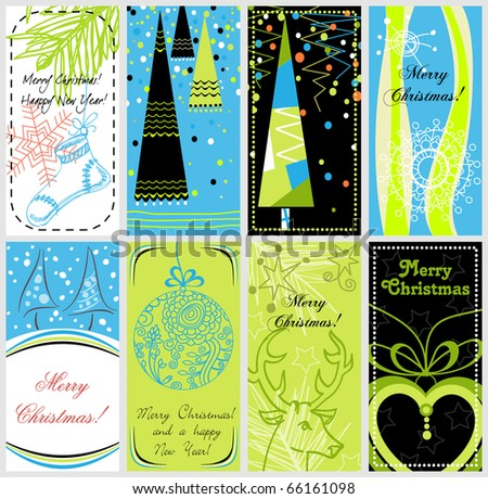 Stylish Christmas banners
