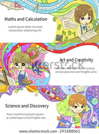 stylish colorful infographic