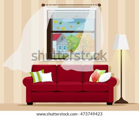 stylish comfortable room