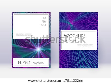 stylish cover design template