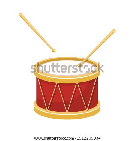 stylish drum vector design