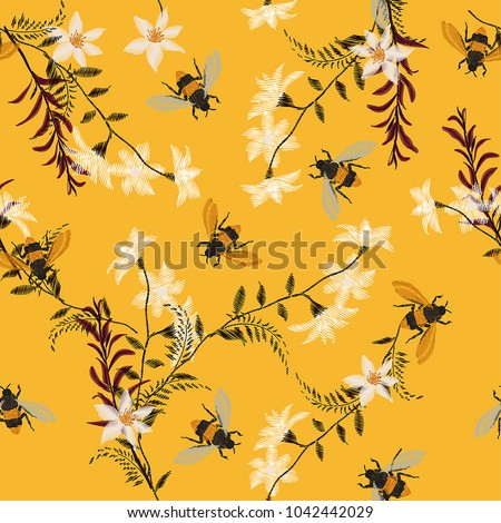 stylish embroidery bee