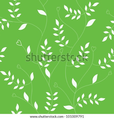 Stylish floral background, vector image