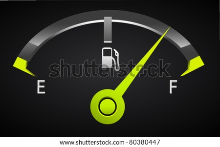 Stylish Fuel Meter