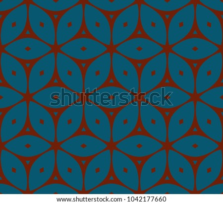 Stylish geometric background. Abstract seamless pattern. Vector illustration. #1042177660