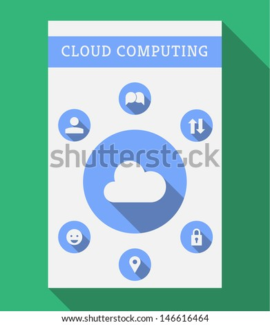 stylish minimal cloud computing