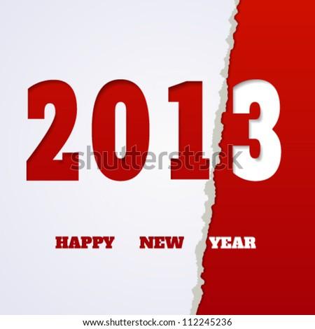 Stylish new year background. Vector illustration.