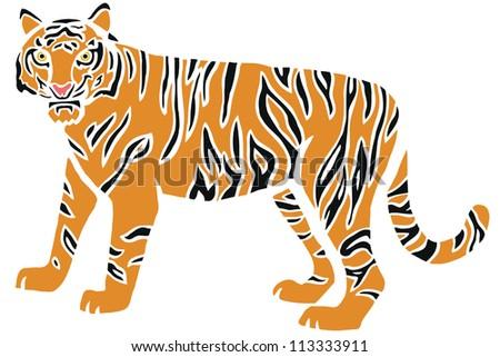 Stylish Tiger