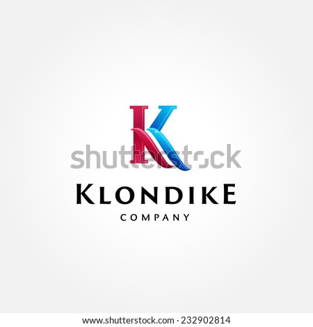 stylish typographic logo