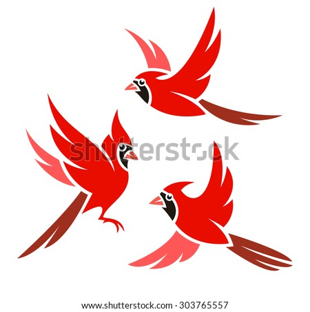 stylized bird   northern