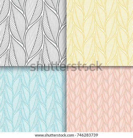 stylized colorful branches and