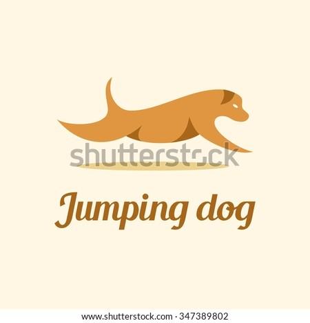 Jumpy dog writing a book