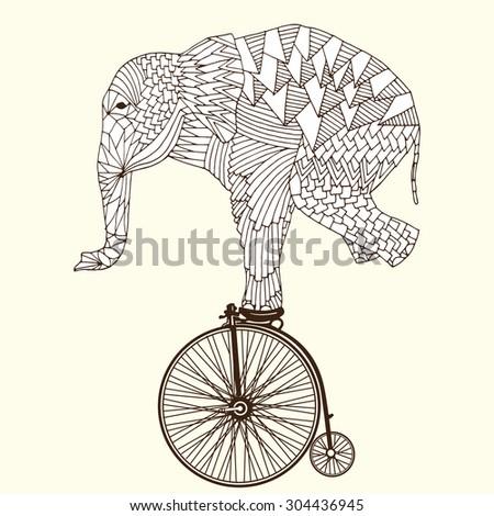 stylized fantasy patterned