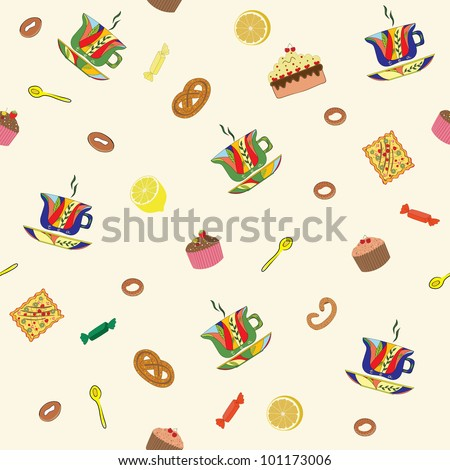 Free Online Kitchen Design Tool on Stylized Image Of Kitchen Utensils And Food Stock Vector 101173006
