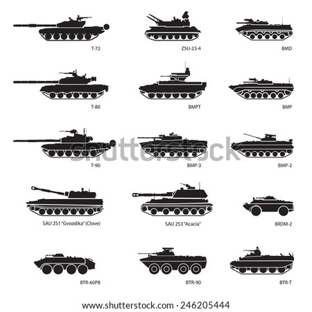 stylized images of armored