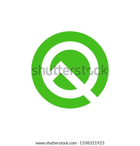 stylized letter q android 10