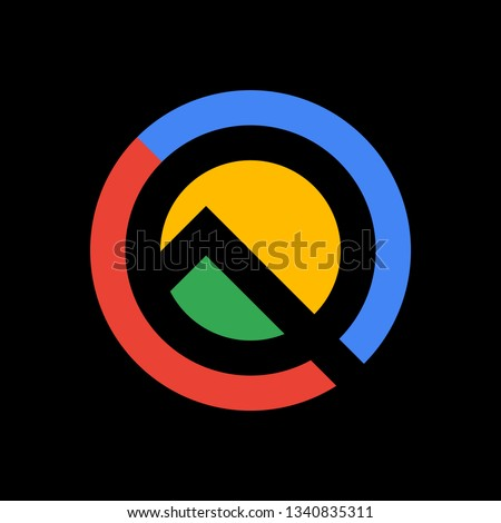stylized letter q company