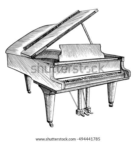 stylized piano musical