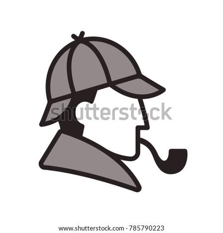stylized sherlock holmes