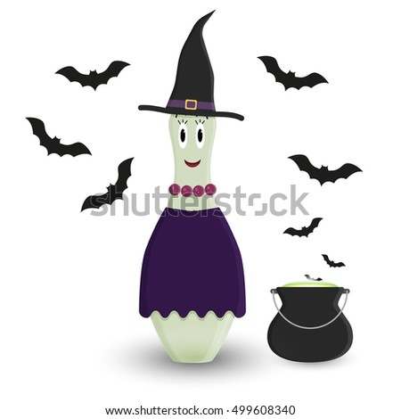 stylized vector halloween