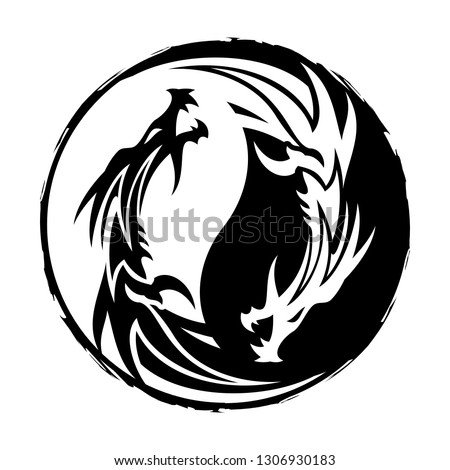 stylized vector image of a