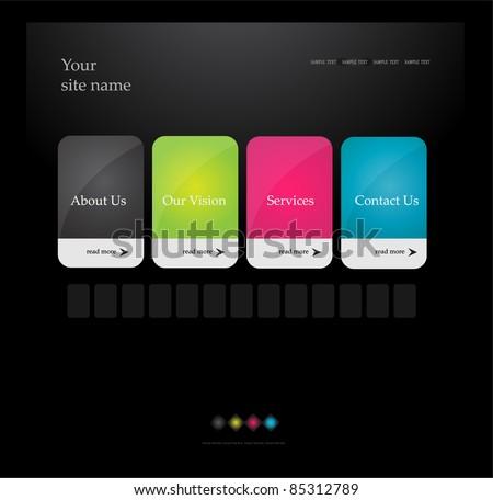stylized web design