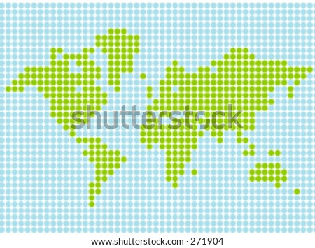world map vector image. world map in vector format