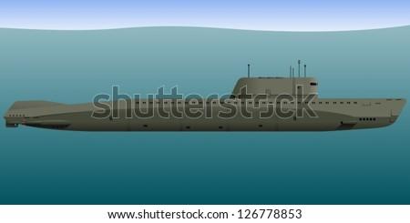 submarine nuclear submarine