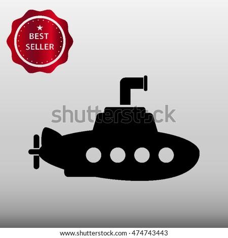 submarine vector icon