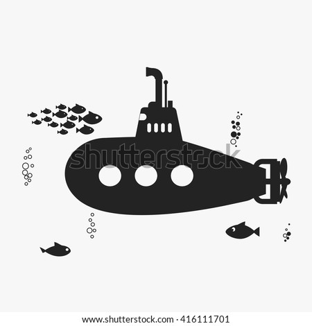 submarine with periscope