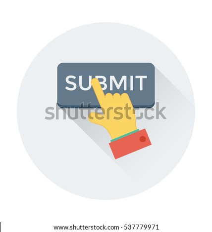 Submit Vector Icon