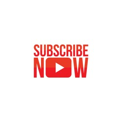 subscribe now button template vector eps red color