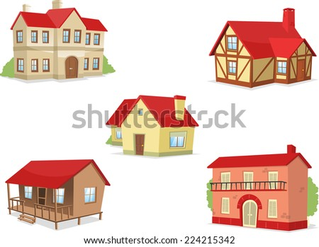 suburb residential house