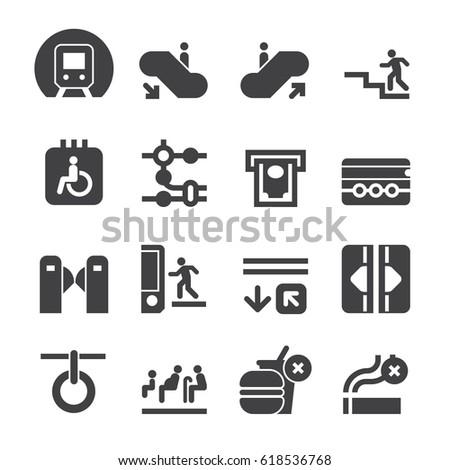 Subway Icons [Black Edition]
