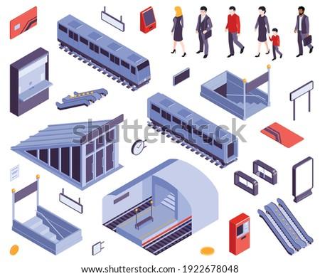 subway metro stations entry