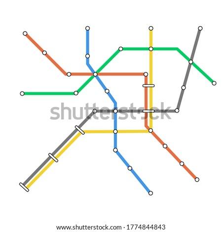 subway omnichannel metro map