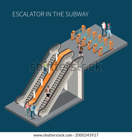 subway underground metro access