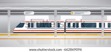 subway  underground platform...