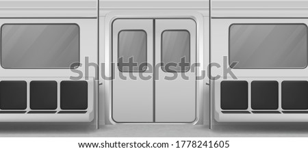 subway wagon interior inside