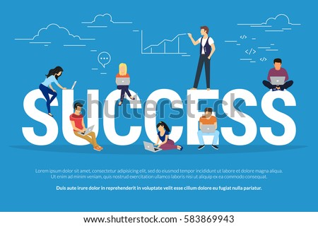 success concept illustration of