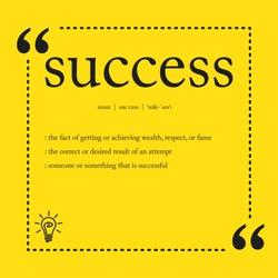 Success definition spelling