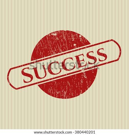 Success grunge seal