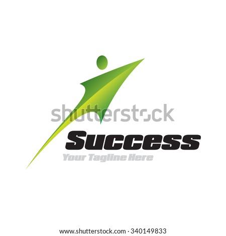 Success Icon Logotype Elements