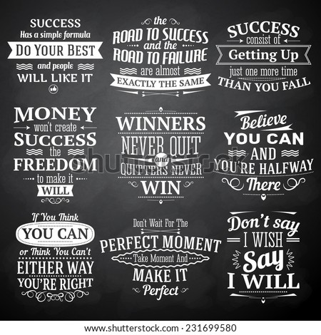 success motivational and