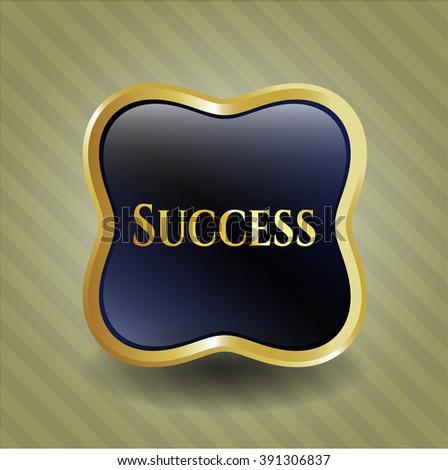 Success shiny emblem