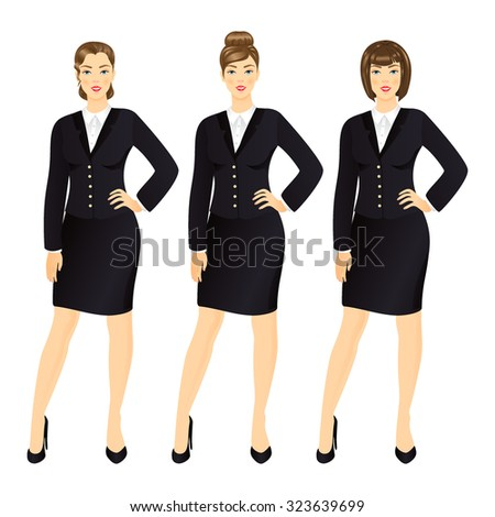 successful business woman in