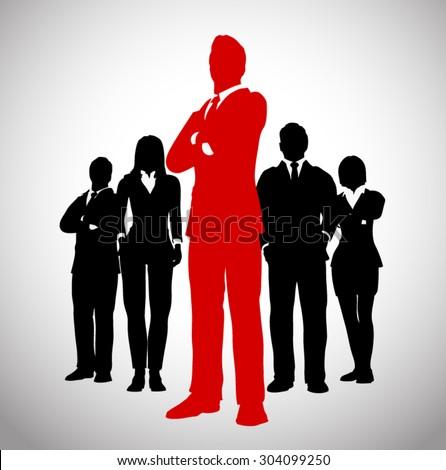 successful team leader a team